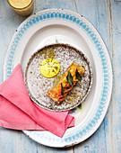 Indian breakfast roll