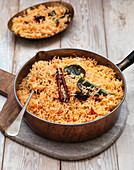 Tomato Pilau rice