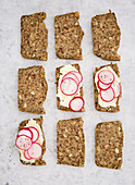 Gluten-free nut and seed bread