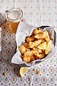 Filetti di baccalà - Baked clip fish fillets from Lazio
