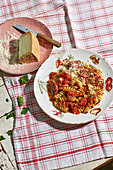 Fusilli alla Silana - pasta with porcini mushrooms from Calabria