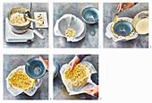 Making a popcorn bowl
