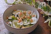 Cucumber and Walnut Salad