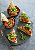 Grilled red pepper spread