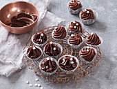 Chocolate truffles with rum