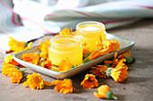 Homemade marigold salve
