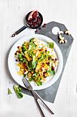Oriental chicken and bulgur salad