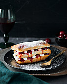 Cherry mille feuille