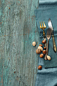 Cutlery and nuts