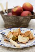 Gegrillte Äpfel mit Zimt