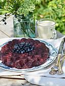 Blueberry groats