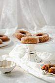 Gluten-free carrot donuts