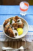 Chicken Farcha, Indian Fried Chicken