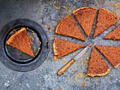 Jaggery-Kuchen (Indien)