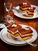 Nougat tart (cake) a la actor Oldrich Nový