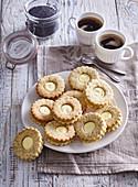 Zitronen-Mohn-Plätzchen zum Kaffee