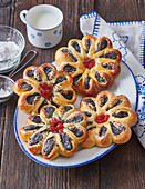 Poppy seed small cakes (Blossoms)