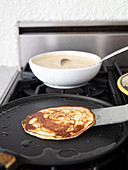 Whole wheat sourdough pancake
