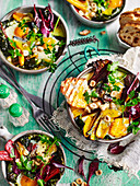 Rainbow Chard and Garlic Baked Beans