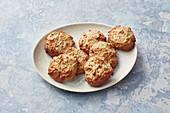 Autumnal apple biscuits
