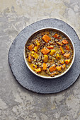 Autumnal pumpkin and quinoa stew