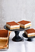 Tiramisu slices