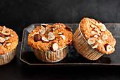 Seeded hazelnut muffins
