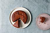 Moist chocolate cake (vegan)