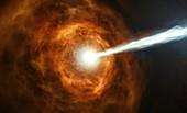 Gamma-ray burst, illustration