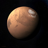 Mars, illustration