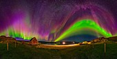 Aurora borealis, Greenland