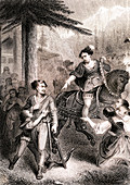 William Tell, 19th century illustration