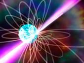 Neutron star, illustration