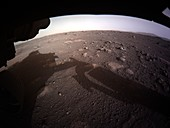 Perseverance rover's first colour image of Mars