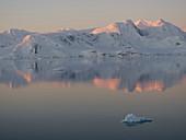 Evening light in Antarctica