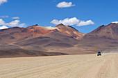 Traversing the Siloli Desert