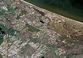 Hoofddorp, Netherlands, satellite image