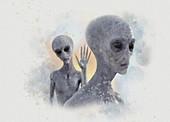 Aliens, illustration