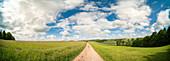 Rural landscape in summer, Germany