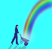Hope, conceptual illustration
