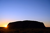 Uluru, Australia, at sunset