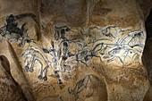 Prehistoric art, Chauvet Cave replica, France
