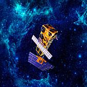 Deep space probe, illustration