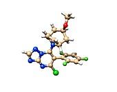 Anticancer molecule, computer model