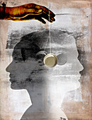 Hypnotherapy, illustration