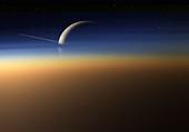 Saturn, illustration