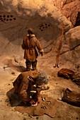Upper Paleolithic people, Caverne du Pont d'Arc, France