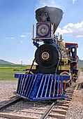 Replica Jupiter steam locomotive