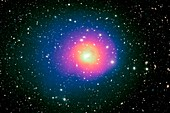 Perseus galaxy cluster, composite image