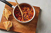 Quick chilli with kidney beans